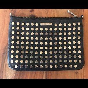 Chic Rebecca Minkoff clutch/crossbody purse.